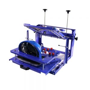 One Color Safety Helmet Hard Material Hat Screen Printing Machine
