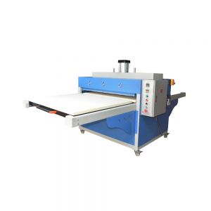 "New 39"" x 47"" Pneumatic Double Working Table Large Format Heat Press Machine with Pull-out Style, 220V 1P"
