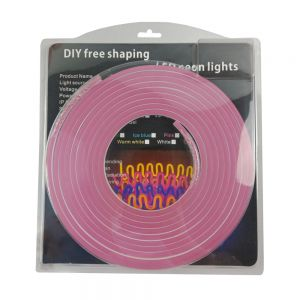 "LED Flexible Neon Light Set 16.4ft, 12VDC, 0.4"" Cut, 0.2"" x 0.47"""