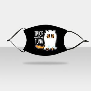 """4.7"""" x 7"""" Adult Face Mask Trick Or Tuna"""