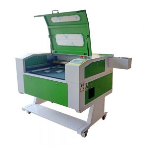 """20"""" x 28"""" (500mm x 700mm) 90W CO2 Laser Cutter, with Double Side Open Door, with USB Port and Electric Lifting Worktable"""