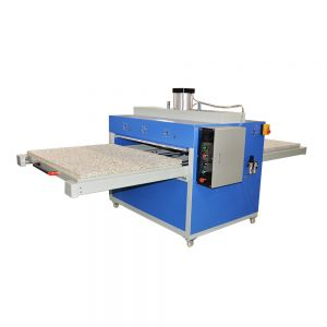 "US Stock - New 39"" x 47"" Pneumatic Double Working Table Large Format Heat Press Machine with Pull-out Style, 220V 1P"