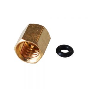Copper Screw with O-ring for Small Damper Ink Piping 1.8*3mm