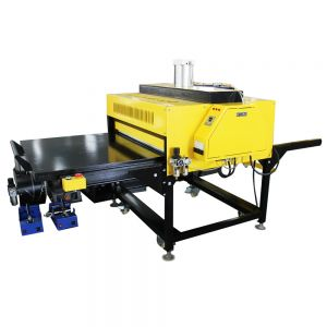 """39"""" x 47"""" Pneumatic Double Working Table Large Format Heat Press Machine with Pull-out Style, 220V 3P"""