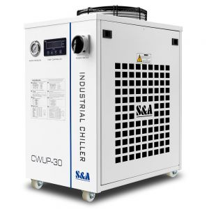 S&A Portable Laser Chiller CWUP-30 For 30W Solid State Ultrafast Laser