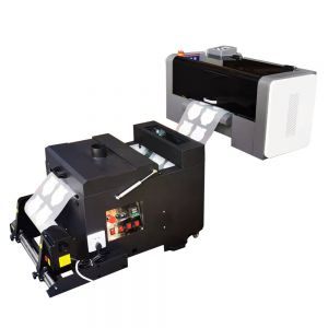 A3 Size DTF Printer with Powder Shaker and Dryer(2 Epson XP-600 Heads)