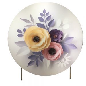 6.5FT Round banner Stand Display Stand