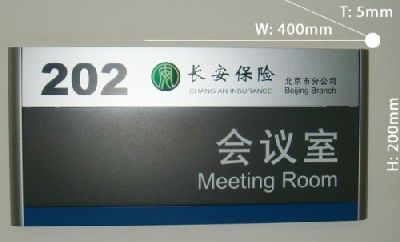 Department signboard 056