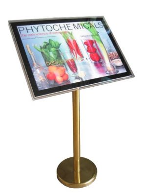 Floor-Standing Crystal Light Box