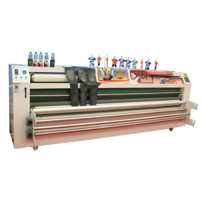 "126"" Large Format Heat Transfer Machine Separation Style 3200(3200mm Oil-warming Blanket Machine)"
