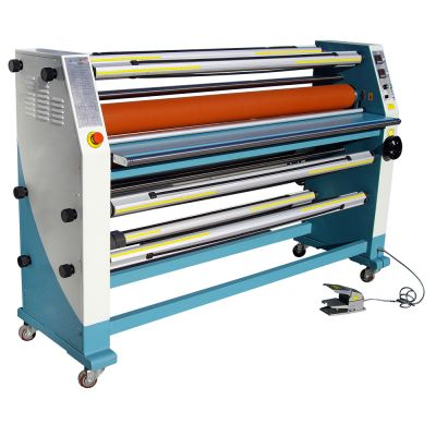 """63"""" Cabinet Frame Full-auto Electric Double Sides Wide Format Hot Laminator"""