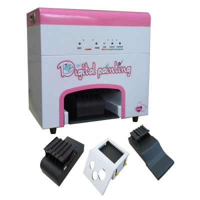 Multifunctional Flower&Nail&Adornment Painting Printer (with PC inside)