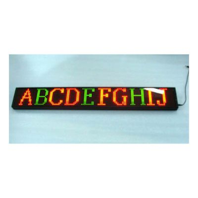 "31"" x 9"" Indoor 3 Lines LED Scrolling Sign(Tricolor or Single Color)"