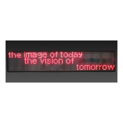 "21"" x 9"" Semi Outdoor 3 Lines LED Scrolling Sign(Tricolor or Single Color)"