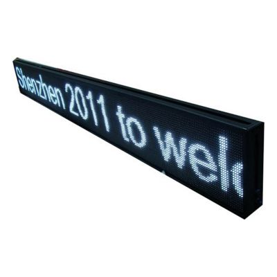 """40"""" x 6"""" Semi Outdoor 2 Lines LED Scrolling Sign(Tricolor or Single Color)"""