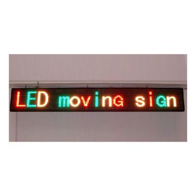 "69"" x 9"" Semi Outdoor 3 Lines LED Scrolling Sign(Tricolor or Single Color)"
