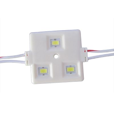 Samsung SMD 5630 High Power Waterproof LED Module (3 LEDs, White Light, 1.2W, L45 x W38mm)