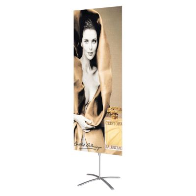 Cross Base Poster Banner Stand (Stand only)