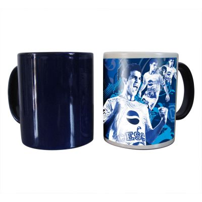 11OZ Blank Sublimation Color Changing Mugs, Magic Cup, Full Color Changing