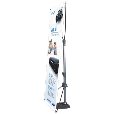 Adjustable Pole Poster Banner Stand