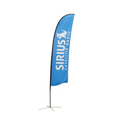 11.5 ft Wing Banner with Cross Base (Double Sided Printing)
