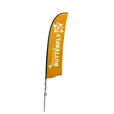 13.1ft Wing Banner with Spike Base (Double Sided Printing)
