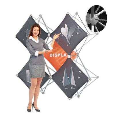 X Shape Pop Up Display