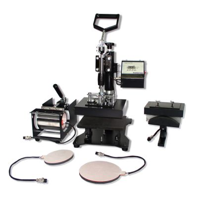 "5 in 1 Combo Heat Press Machine 5.9"" x 7.9"" (150 x 200mm)"
