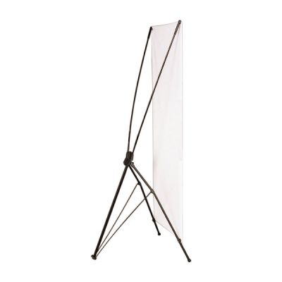 """Economy Iron Foot X Banner Stand (24""""x63"""")"""