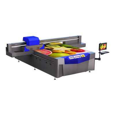"120"" x 80"" FBP-UV 3020 Series Industrial Wide Format UV Flatbed Printer"