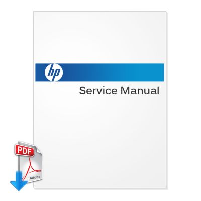 HP DesignJet 9000S Plotter Printer English Service Manual (Direct Download)