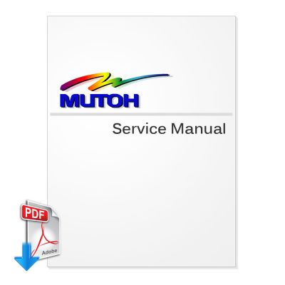 MUTOH RockHopper 38 Series Service Manual (Direct Download)