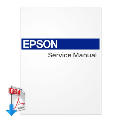 EPSON GS6000 Large Format Printer and Plotter English Service Manual, On-Site Maintenance Manual (Direct Download)
