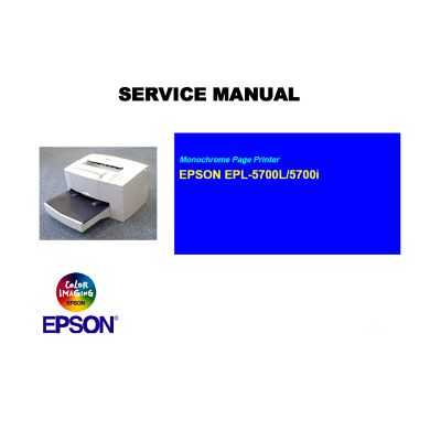 EPSON EPL-5700L EPL-5700i Printer English Service Manual