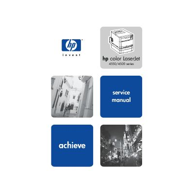 HP Color LaserJet 4500 4550 English Maintenance Manual