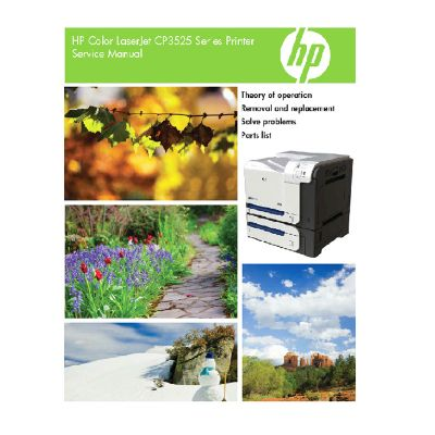 HP Color LaserJet CP3525 English Service Manual (Direct Download)
