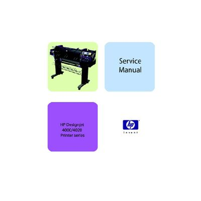HP Designjet 4000 4020 Plotter English Service Manual/Maintenance Manual