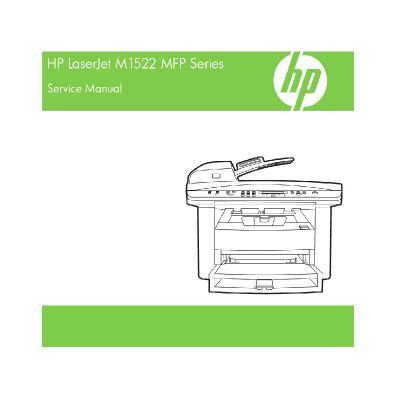 HP LaserJet M1522 MFP English Service Manual(Direct Download)