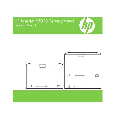 HP LaserJet P3005 English Maintenance Manual (Direct Download)