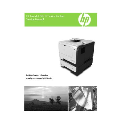 HP LaserJet P3015 English Maintenance Manual
