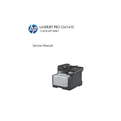 HP LaserJet Pro CM1415 English Service Manual