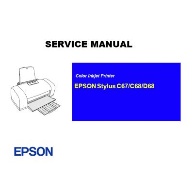EPSON Stylus C67 68/D68 Printer English Service Manual