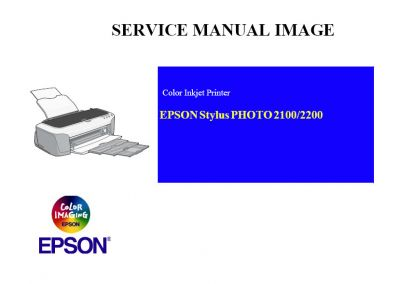 EPSON Stylus Photo 2100 2200 Printer English Service Manual (Direct Download)