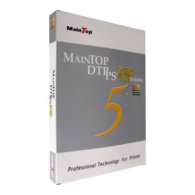 Maintop RIP Software V5.5X for HiJet X6184-B 4C/6C Rodin (hardcover)