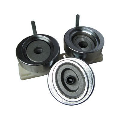 """1"""" (25mm) Economic Round Interchangeable Die Mould with Plastic Slide Rail for DIY Badge Maker Machine"""
