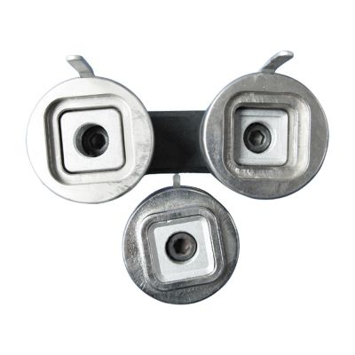 32mm x 32mm New Split Type Square Badge Button Die Mould for DIY Badge Maker Machine