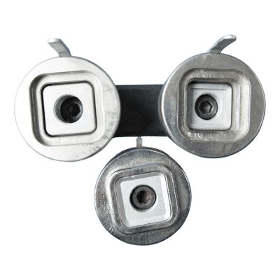50mm x 50mm New Split Type Square Badge Button Die Mould for DIY Badge Maker Machine