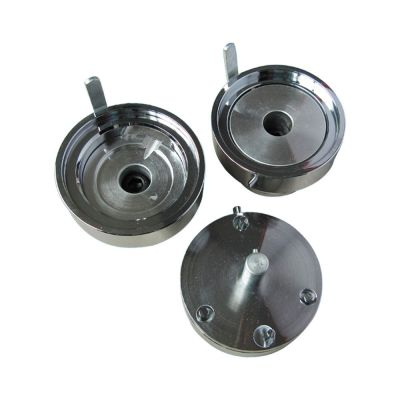 """2-1/5"""" (56mm) New Split Type Round Interchangeable Die Mould for DIY Badges Making"""
