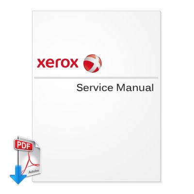 XEROX DocuMate 252, 262 Green, 272 Green Service Manual