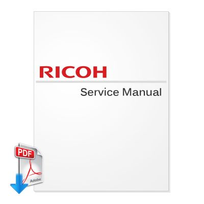 Ricoh Aficio 2060SP Service Manual (Version 1)